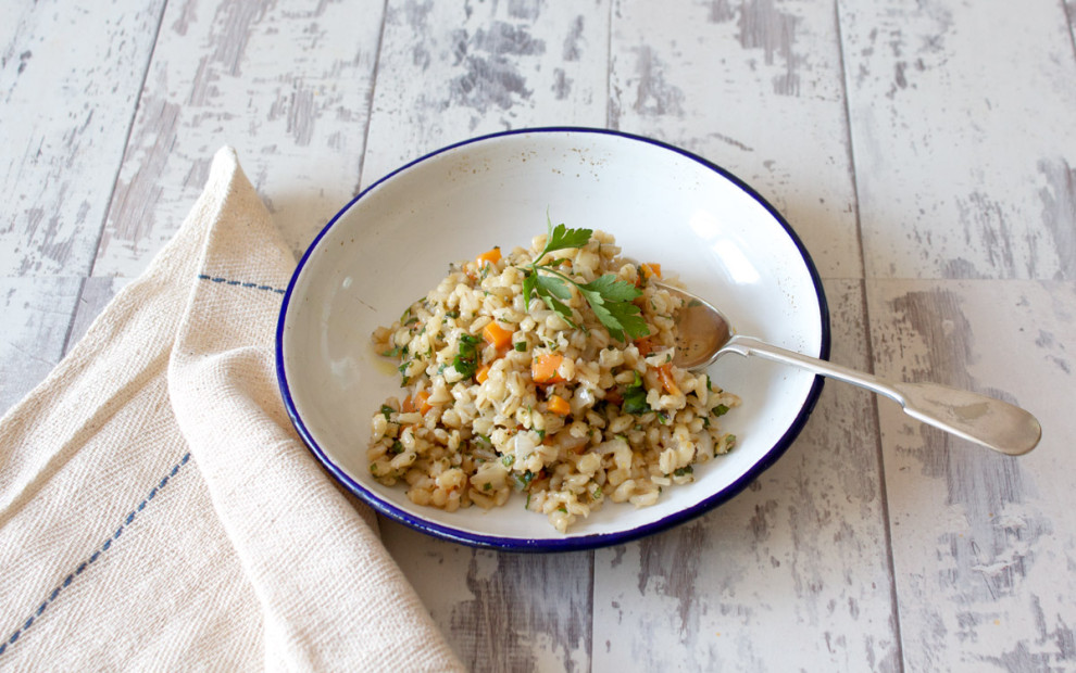 Bulgar Wheat Risotto