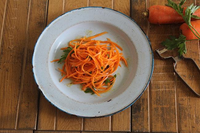 Salade De Carrotte Râpées